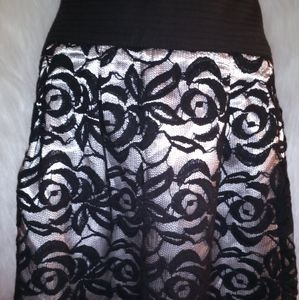 Dalia Collection Lace Skirt
